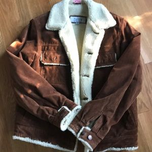 Wilson's Leather Suede Coat M.Julian Chesnut